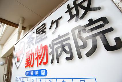 茶屋ケ坂動物病院画像