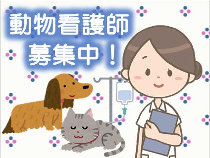 非公開求人:動物看護師募集【アルバイト・パート】【北海道江別市】No.74702_2_410_b画像
